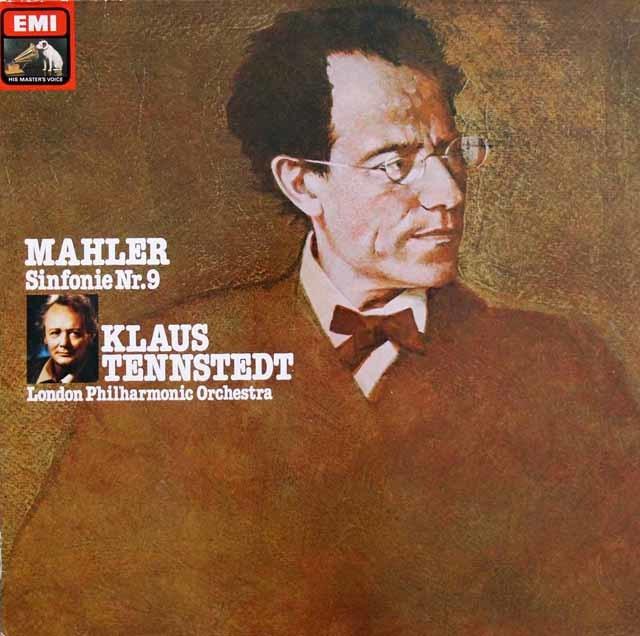 テンシュテットのマーラー/交響曲第9番 独EMI 3201 LP レコード