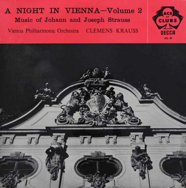 クラウスの/「ウィーンの一夜」 vol.2  英DECCA 3201 LP レコード