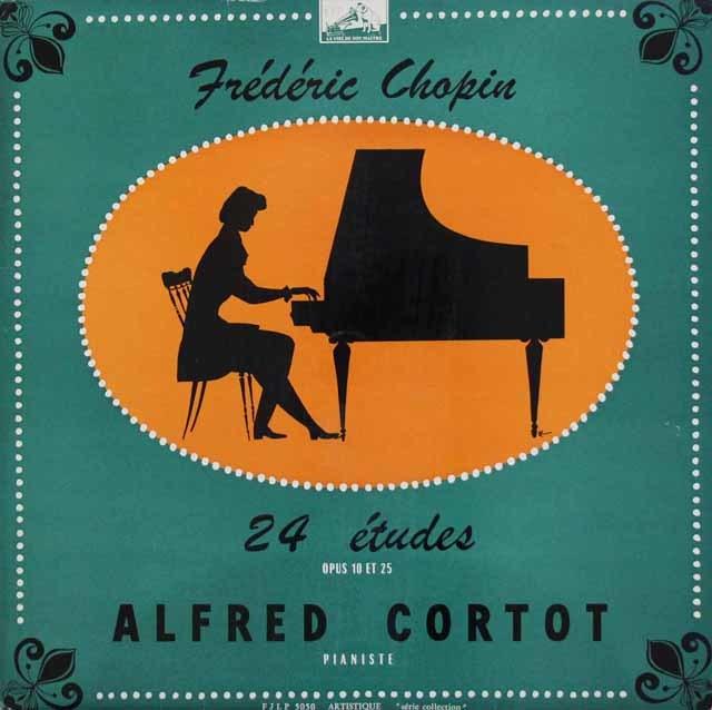 コルトーのショパン/練習曲集作品10と25 仏EMI(VSM) 3202 LP レコード