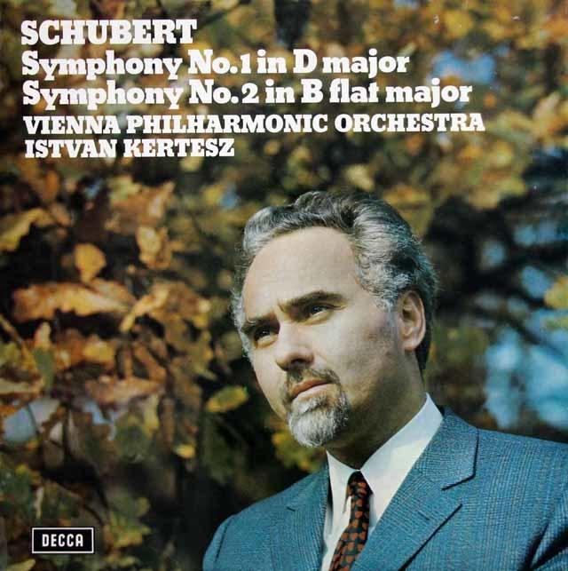 【オリジナル盤】 ケルテスのシューベルト/交響曲第1&2番 英DECCA 3202 LPレコード