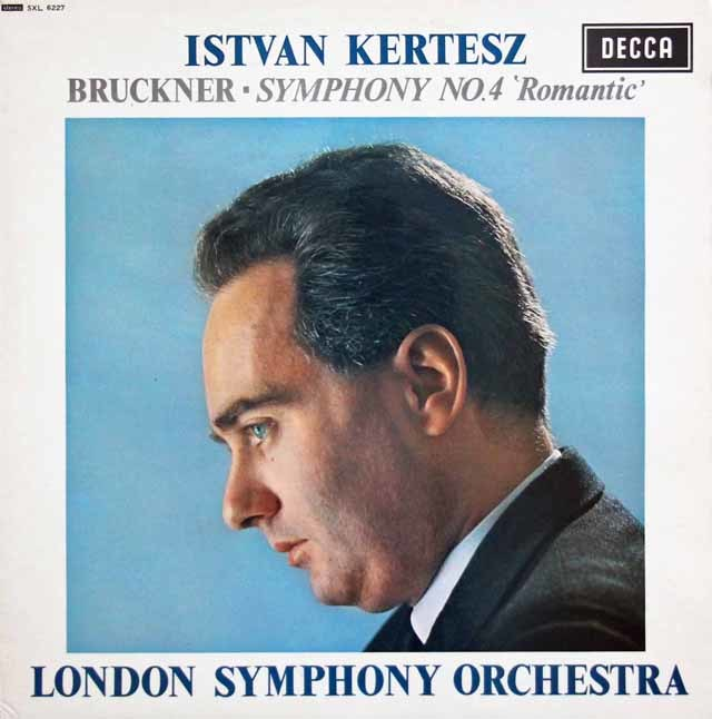 ケルテスのブルックナー/交響曲第4番「ロマンティック」 英DECCA 3202 LP レコード