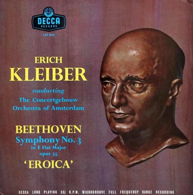 【オリジナル盤】 E.クライバーのベートーヴェン/交響曲第3番「英雄」 英DECCA 3202 LP レコード
