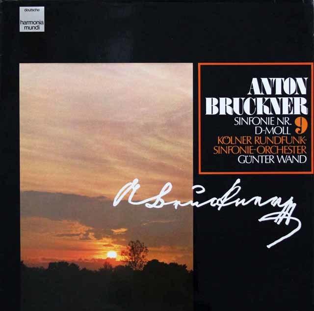 ヴァントのブルックナー/交響曲第9番 独HM 3202 LP レコード