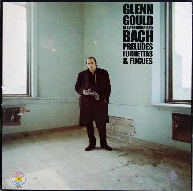 グールドのバッハ/プレリュード、フゲッタ&フーガ集 蘭CBS 3202 LP レコード