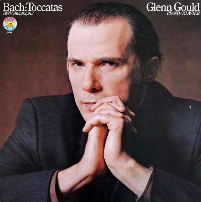 【2枚セット】 グールドのバッハ/トッカータ集 独CBS 3202 LPレコード