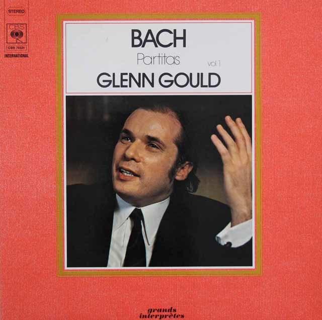 【2枚セット】 グールドのバッハ/パルティータ集 Vol.1、2 仏CBS 3202 LP レコード