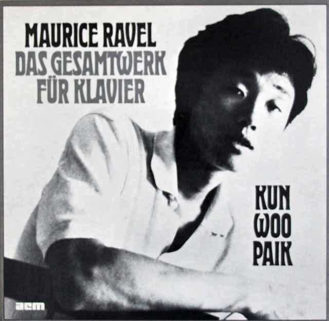 パイクのラヴェル/ピアノ曲全集 独acm(SEON) 3202 3LP LP レコード