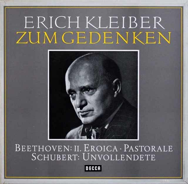 E.クライバー名演集(ベートーヴェン/交響曲第3番「英雄」 ほか) 独DECCA 3202  LP レコード