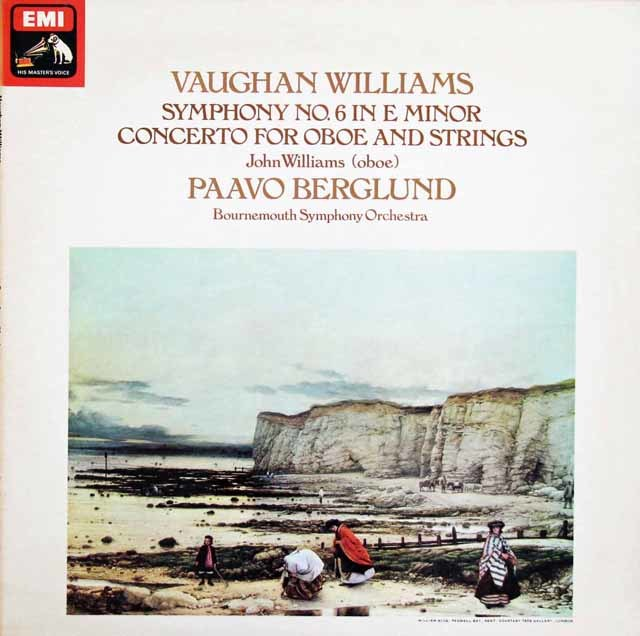 【オリジナル盤】ベルグルンドのヴォーン・ウィリアムス/交響曲第6番ほか 英EMI 3203 LP レコード