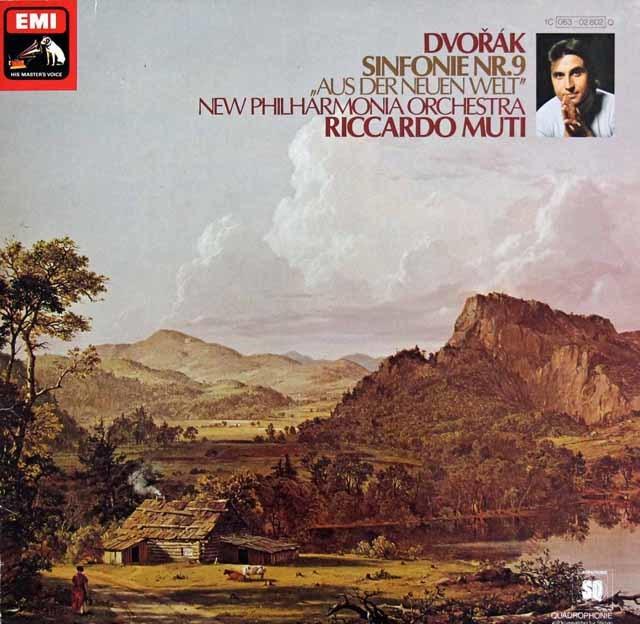 ムーティのドヴォルザーク/交響曲第9番「新世界より」 独EMI 3203 LP レコード