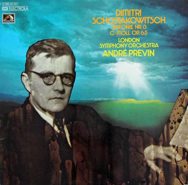 プレヴィンのショスタコーヴィチ/交響曲第8番 独EMI 3203 LP レコード