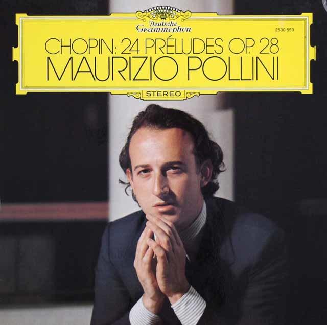 ポリーニのショパン/前奏曲集 独DGG 3203 LP レコード