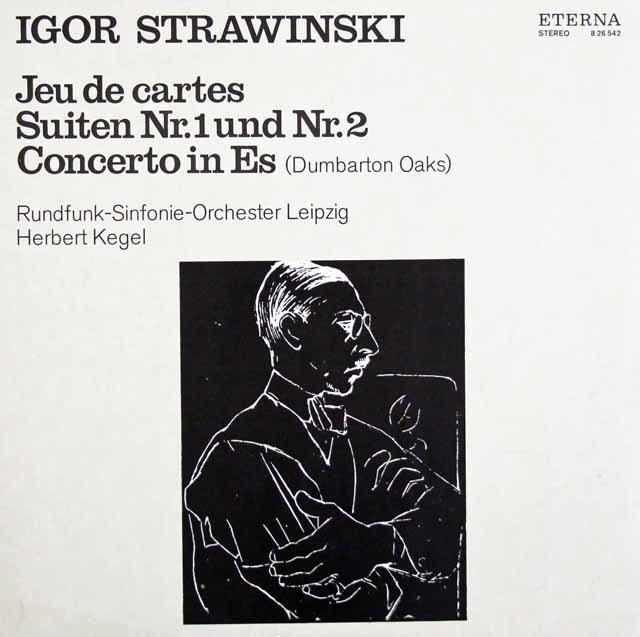 ケーゲルのストラヴィンスキー/「カルタ遊び」ほか 独ETERNA 3203 LP レコード