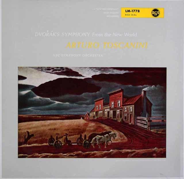 トスカニーニのドヴォルザーク/交響曲第9番「新世界より」 独RCA 3203 LP レコード