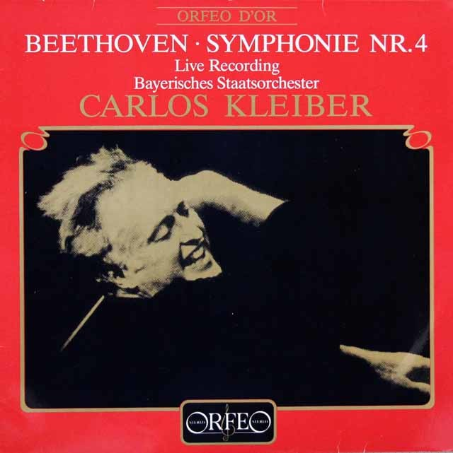 クライバーのベートーヴェン/交響曲第4番 独ORFEO 3203 LP レコード