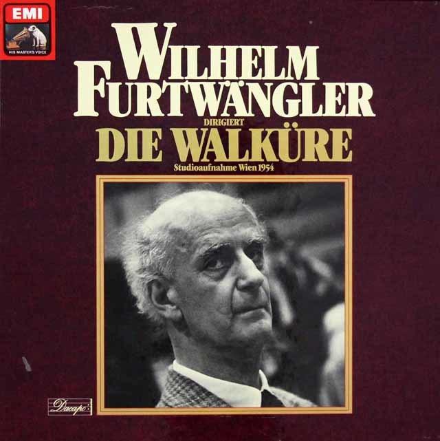 フルトヴェングラーのワーグナー/「ワルキューレ」全曲 独EMI 3203 LP レコード