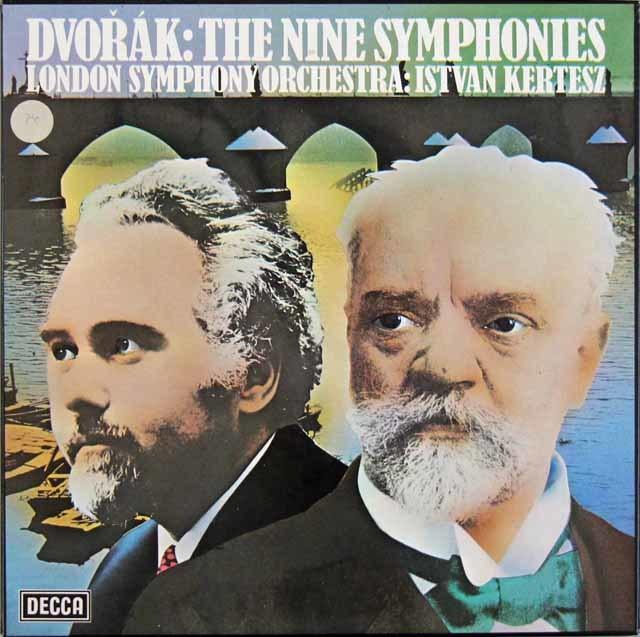 ケルテスのドヴォルザーク/交響曲全集 英DECCA 3203 LP レコード