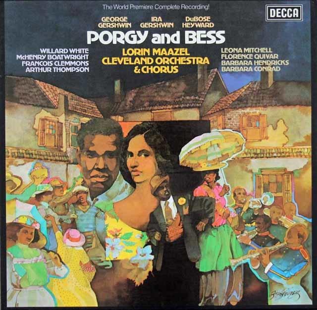 マゼールのガーシュウィン/「ポーギーとベス」 独DECCA 3203 LP レコード