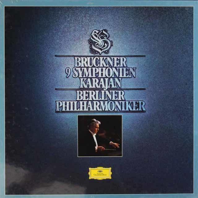 【未開封】カラヤンのブルックナー/交響曲全集 独DGG 3203 LP レコード