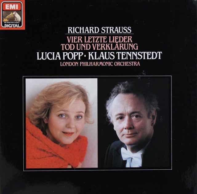 ポップ&テンシュテットのR.シュトラウス/4つの最後の歌 独EMI 3204 LP レコード