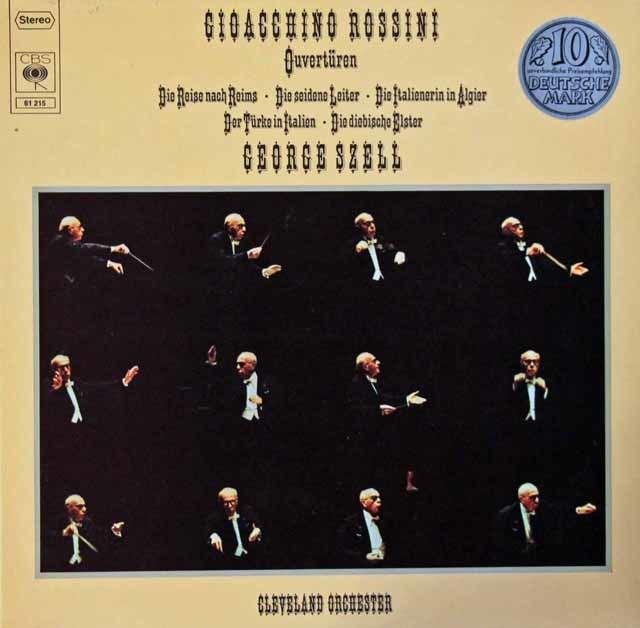 セルのロッシーニ/序曲集  独CBS  3204 LP レコード