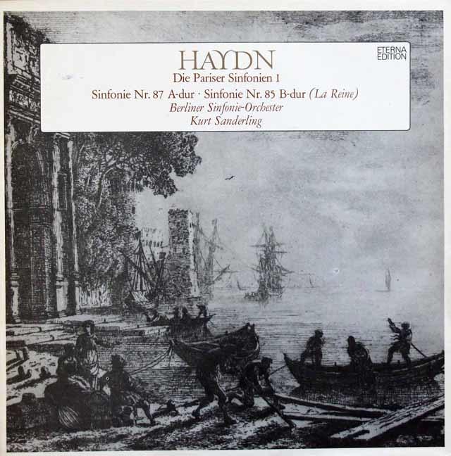 ザンデルリンクのハイドン/交響曲「王妃」ほか 独ETERNA 3204 LP レコード