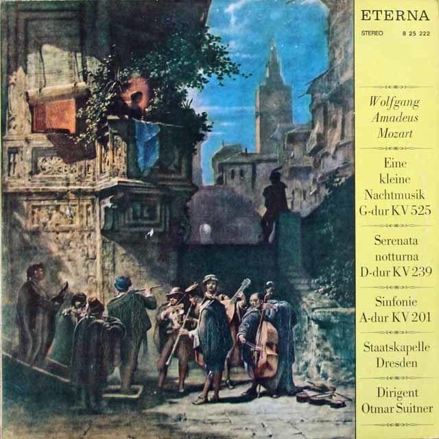 スウィトナーのモーツァルト/アイネ・クライネ・ナハトムジークほか   独ETERNA  3204 LP レコード