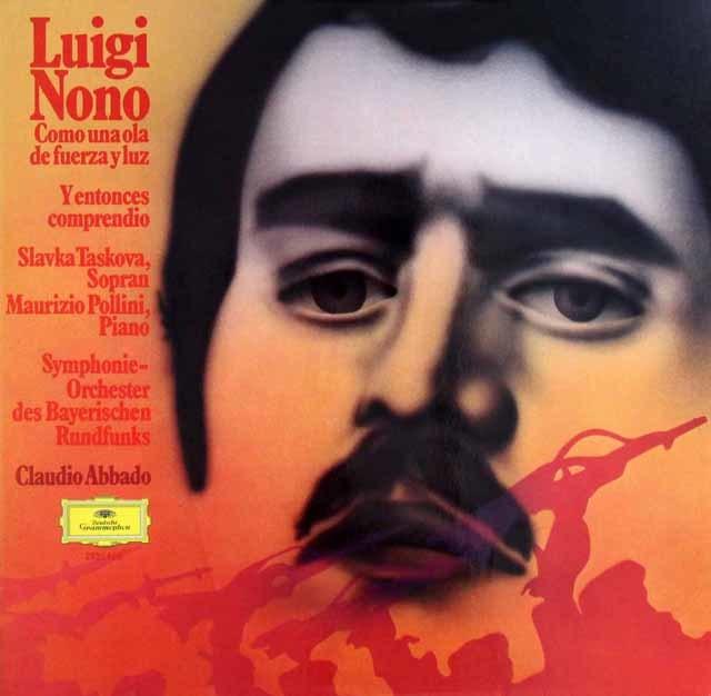 ポリーニ&アバドのノーノ/「力と光の波のように」ほか 独DGG 3204 LP レコード