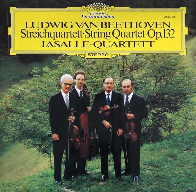 ラサール四重奏団のベートーヴェン/弦楽四重奏曲第15番 独DGG 3204 LP レコード