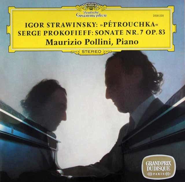 ポリーニのストラヴィンスキー/「ペトルーシュカ」ほか  独DGG 3204 LP レコード