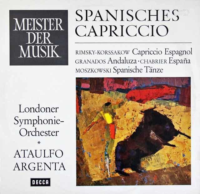 「スペイン!」(アルヘンタのリムスキー=コルサコフ/スペイン奇想曲ほか) 独DECCA 3204