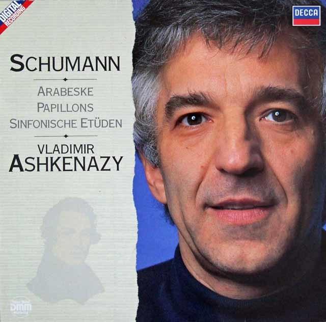 アシュケナージのシューマン/アラベスクほか 独DECCA 3204 LP レコード