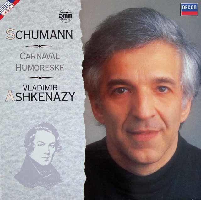 アシュケナージのシューマン/「謝肉祭」ほか 英DECCA 3204 LPレコード