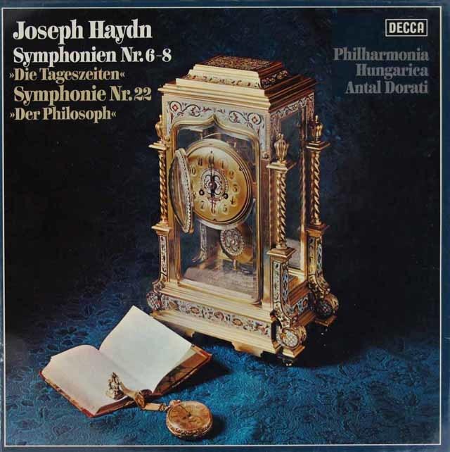 【未開封】 ドラティのハイドン/交響曲第6、7、8番 独DECCA 3204 LP レコード