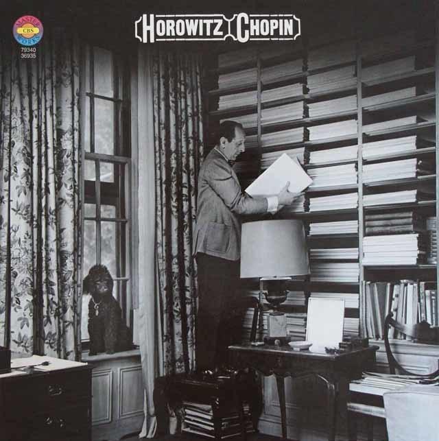 ホロヴィッツのショパン/ピアノ曲集 独CBS 3204 LP レコード