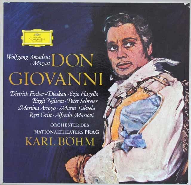 ベームのモーツァルト/「ドン・ジョヴァンニ」全曲  独DGG 3204 LP レコード