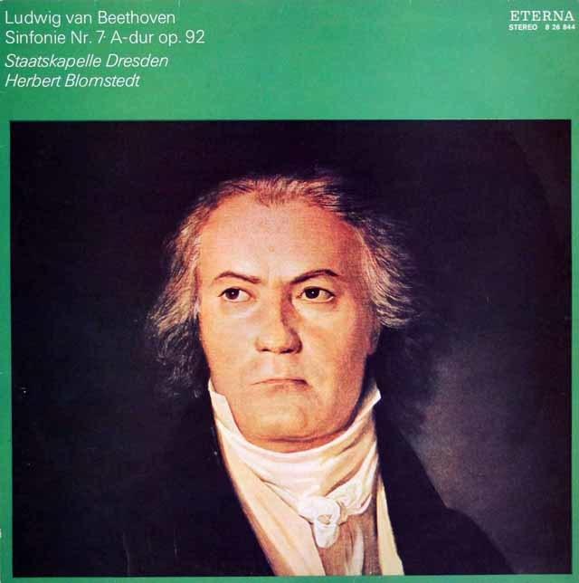 ブロムシュテットのベートーヴェン/交響曲第7番 独ETERNA 3205 LP レコード
