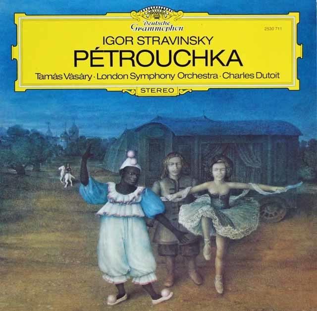 ヴァーシャリ&デュトワのストラヴィンスキー/バレエ「ペトルーシュカ」 独DGG 3205 LPレコード