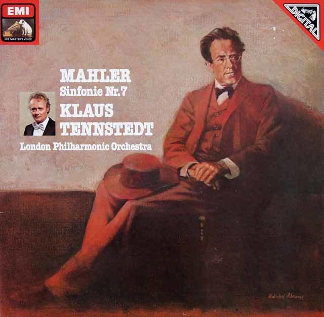 テンシュテットのマーラー/交響曲第7番「夜の歌」 独EMI 3205 LP レコード