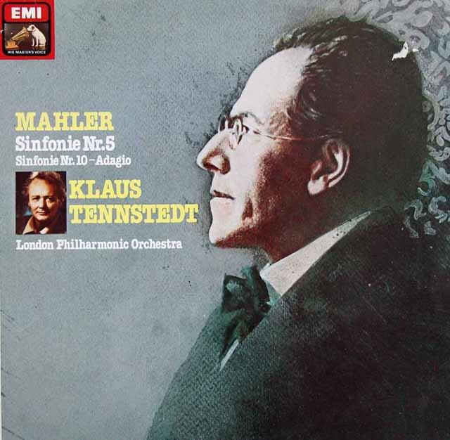 テンシュテットのマーラー/交響曲第5番ほか 独EMI 3205 LP レコード