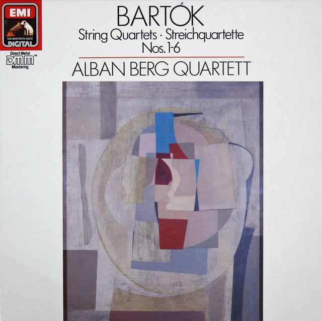 アルバン・ベルク四重奏団のバルトーク/弦楽四重奏曲全集 独EMI 3205 LP レコード