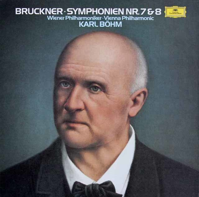 ベームのブルックナー/交響曲第7&8番 独DGG 3205 LP レコード