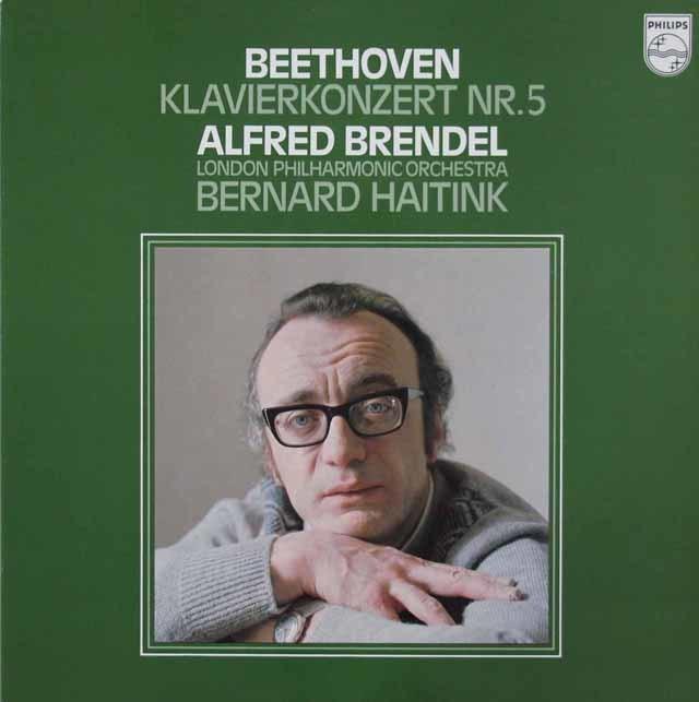 ブレンデル&ハイティンクのベートーヴェン/ピアノ協奏曲第5番「皇帝」 蘭PHILIPS 3206 LP レコード