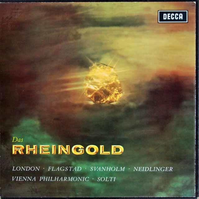 ショルティのワーグナー/「ラインの黄金」全曲 英DECCA 3206 LP レコード