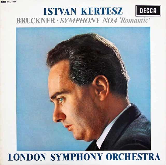 ケルテスのブルックナー/交響曲第4番「ロマンティック」 英DECCA 3206 LP レコード