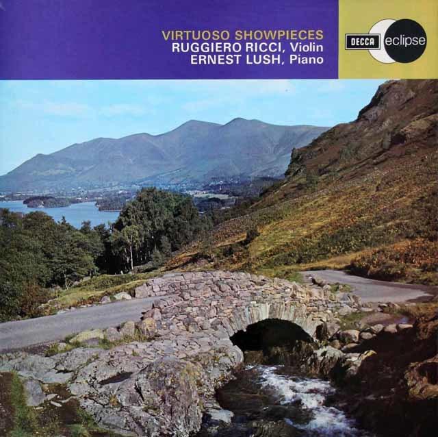 リッチの「ヴィルトゥオーソ・ショウピース」 英DECCA 3206 LP レコード