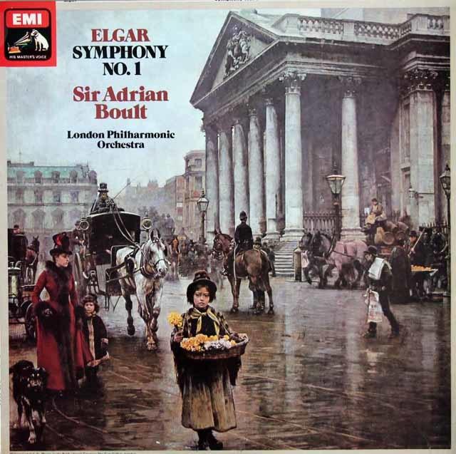 【オリジナル盤】ボールトのエルガー/交響曲第1番 英EMI 3206 LP レコード