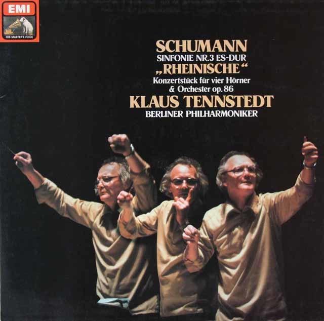 テンシュテットのシューマン/交響曲第3番「ライン」ほか 独EMI 3206 LP レコード