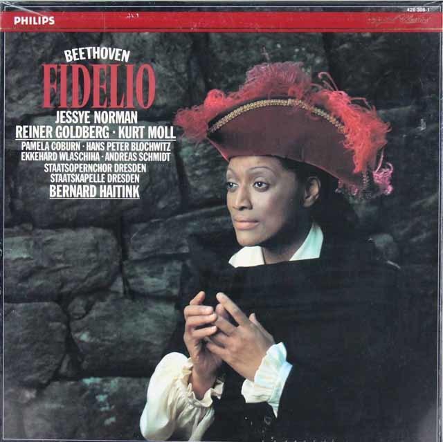 【未開封】ノーマン&ハイティンクのベートーヴェン/「フィデリオ」 蘭PHILIPS 3206 LP レコード
