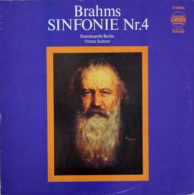 スウィトナーのブラームス/交響曲第4番 独ETERNA 3207 LP レコード